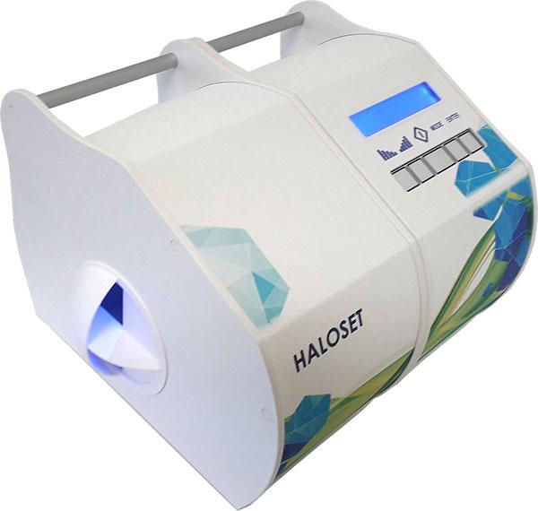HALOSET - Halogenerators from HaloSpa USA