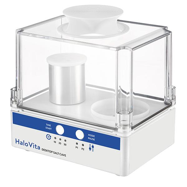 Halo Vita Desktop Salt Cave - Halogenerators from HaloSpa USA